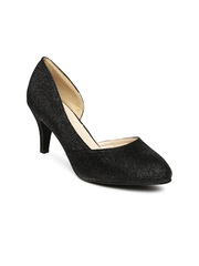 Paprika by Lifestyle Women Black Shimmery Heels