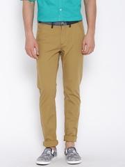 United Colors of Benetton Khaki Slim Casual Trousers