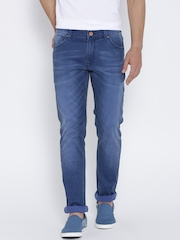 United Colors of Benetton Blue Washed Skinny Jeans