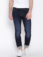 United Colors of Benetton Navy Slim Straight Jeans
