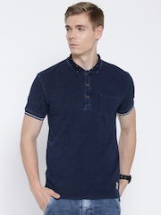 United Colors of Benetton Navy Polo T-shirt