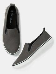 Mast & Harbour Men Grey Slip-Ons