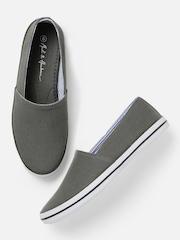 Mast & Harbour Men Grey Loafers
