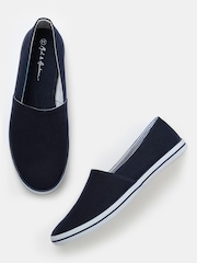 Mast & Harbour Men Navy Loafers