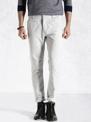 Roadster Light Grey Trousers