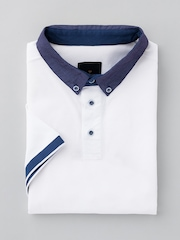 INVICTUS White Polo T-shirt