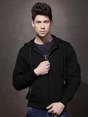 RDSTR Black Hooded Sweatshirt