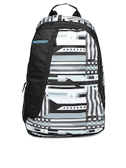 WIldcraft Unisex Black Printed Backpack