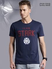 Iron Man Navy Printed T-shirt