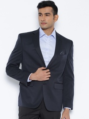 SUITLTD Navy Single-Breasted Blazer