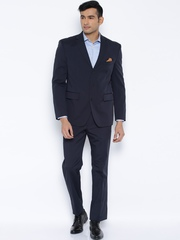 SUITLTD Navy Single-Breasted Regular Fit Suit