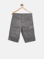 United Colors of Benetton Boys Grey Shorts