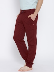 SDL by Sweet Dreams Maroon Pyjamas 9101G3A