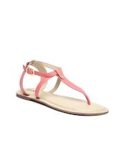 Lavie Women Coral Pink Flats