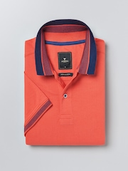 INVICTUS Coral Red Polo T-shirt