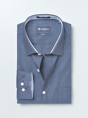 INVICTUS Blue Slim Fit Formal Shirt