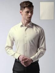 INVICTUS Beige Slim Fit Formal Shirt