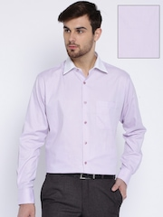 Raymond Lavender Contemporary Fit Formal Shirt