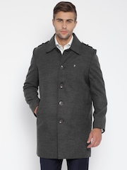 Raymond Charcoal Grey Coat