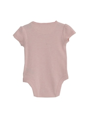 mothercare Girls Pink Printed Bodysuit