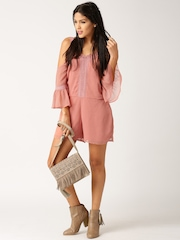 All About You from Deepika Padukone Dusky Pink Playsuit