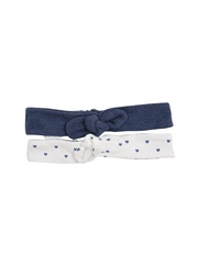 mothercare Girls Set of 2 Printed Hairbands