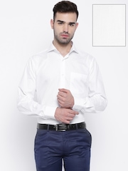Raymond White Contemporary Fit Formal Shirt