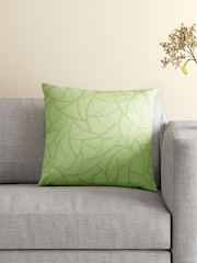 S9home by Seasons Green Single Patterned 18'' x 18'' Square Cushion Cover
