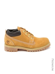 Timberland Men Brown Classic Ox Waterproof Leather Boots