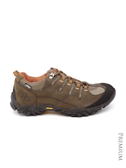 Timberland Men Brown Varston Leather Boots