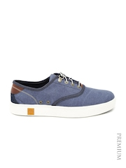Timberland Men Blue Amherst Oxford Casual Shoes