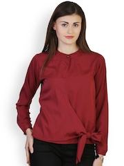 Belle Fille Maroon Top