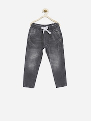YK Boys Charcoal Grey Jeans