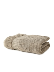 Portico New York Therapeia Olive Brown Cotton Bath Towel