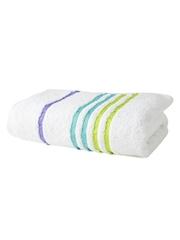 Portico New York Tiara White Cotton Bath Towel