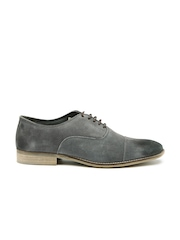 Jack & Jones Men Grey Suede Casual Shoes