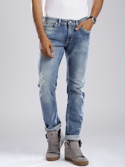 GAS Blue Albert Slim Fit Jeans