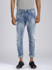 GAS Blue Ridley Carrot Fit Jeans