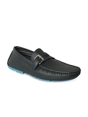 Action Men Navy Loafers
