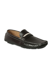 Action Men Brown Leather Loafers