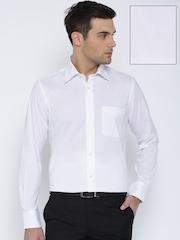 Park Avenue White Formal Shirt