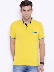 Park Avenue Yellow Polo T-shirt
