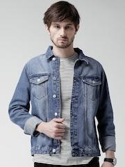 New Look Blue Washed Denim Jacket