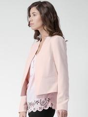 New Look Light Pink Open Front Blazer