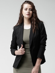 New Look Black Single-Breasted Formal Blazer