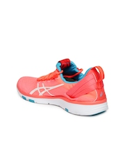 ASICS Women Neon Orange GEL-FIT SANA 2 Training Shoes