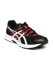 ASICS Men Black & Red GEL-CONTEND 3 Running Shoes
