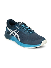ASICS Men Blue FuzeX LYTE Running Shoes
