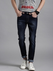 Kook N Keech Marvel Blue Washed Skinny Fit Jeans