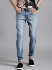 Kook N Keech Marvel Blue Skinny Fit Jeans